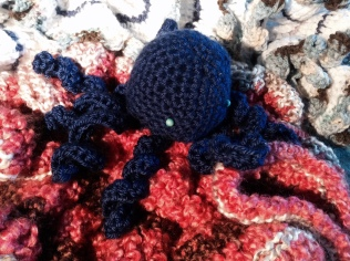 Octavia, the Crochet Octopus