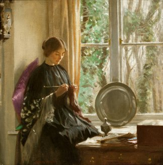 HAROLD KNIGHT 1874-1961 By the Window