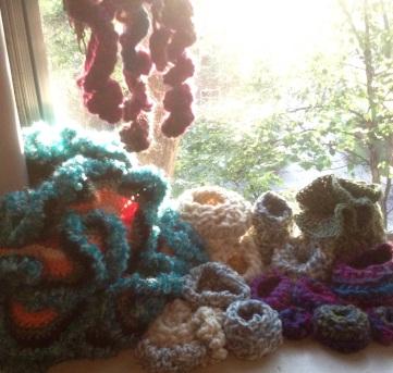 Renata Bursten Crochet Hyperbolic Coral Reef 2015