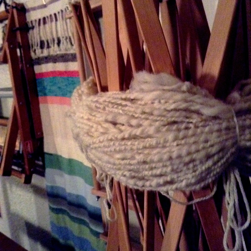 skein drying